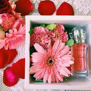 touch hair perfume gift box