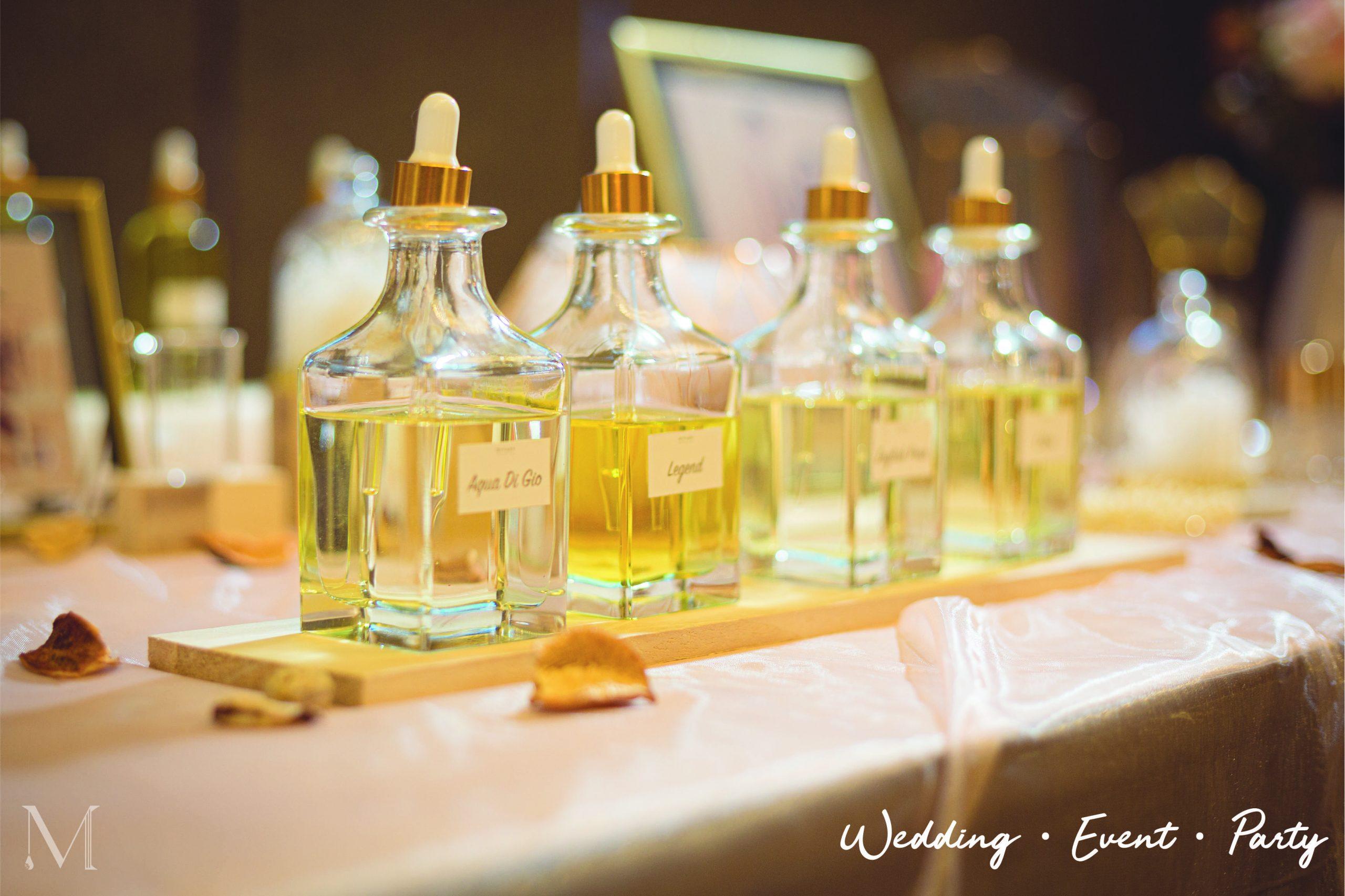 wedding perfume bar doorgift